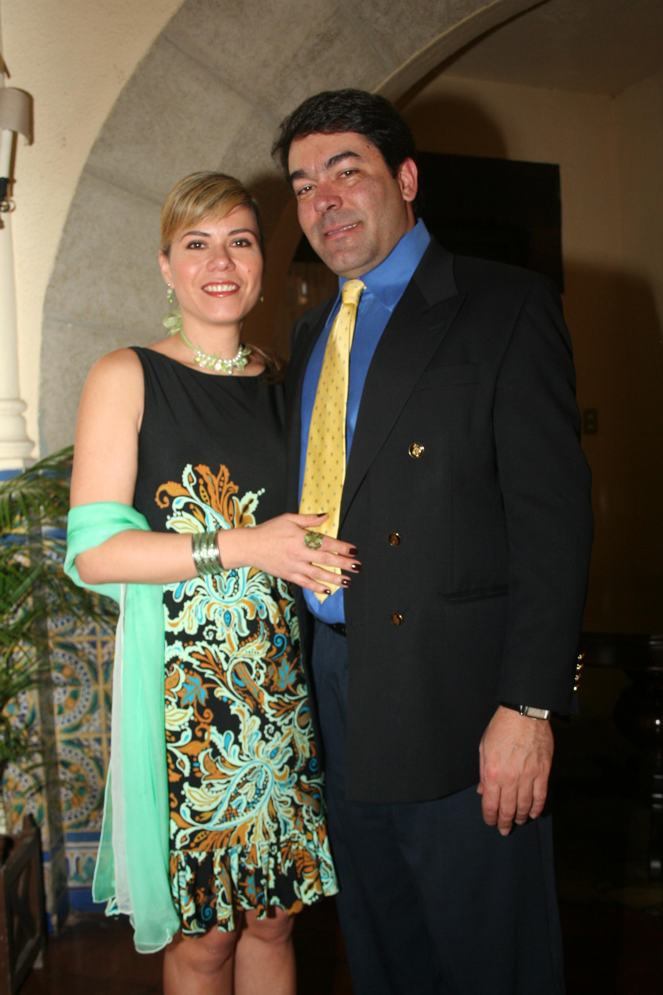 Marianna Rivero de Bermudez y Jeau Paul Bermudez Fernandez