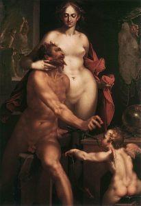 Bartholomeus Spranger - Venus y Volcan