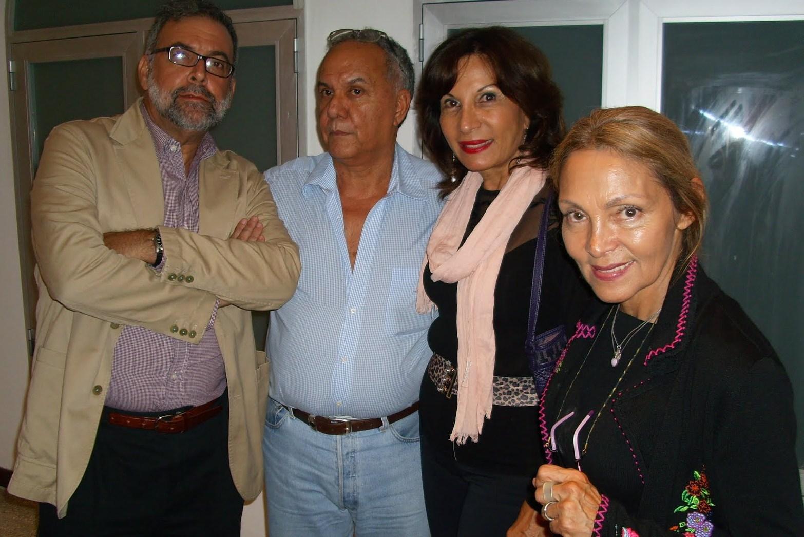José Miguel Palacios, Nelson Sánchez Chapellin, Carmen Mared Ravelo de Salge y Safa Seelinge