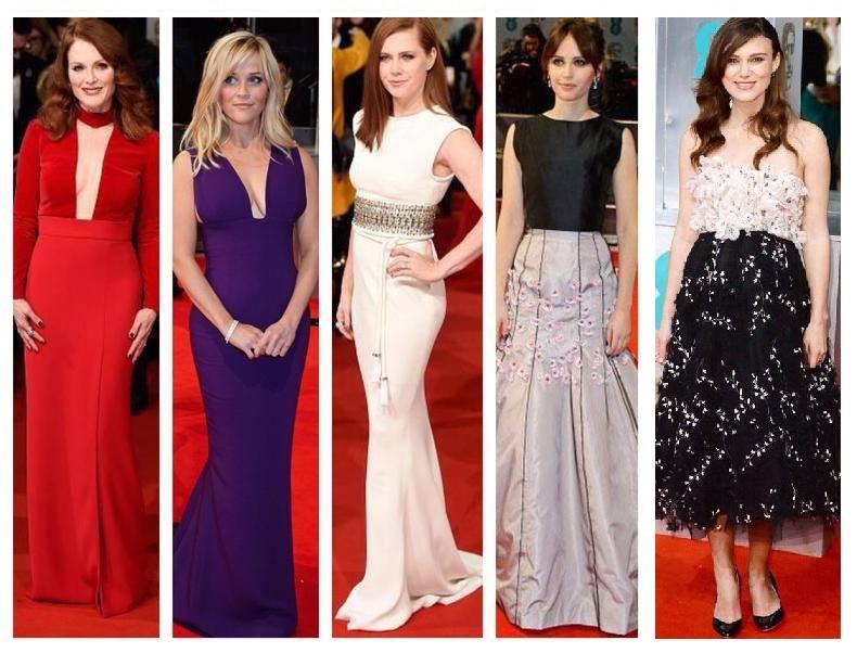 Las más chic de los BAFTA 2015