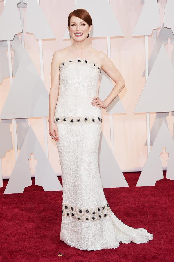 La alfombra roja de los Premios Oscar 2015