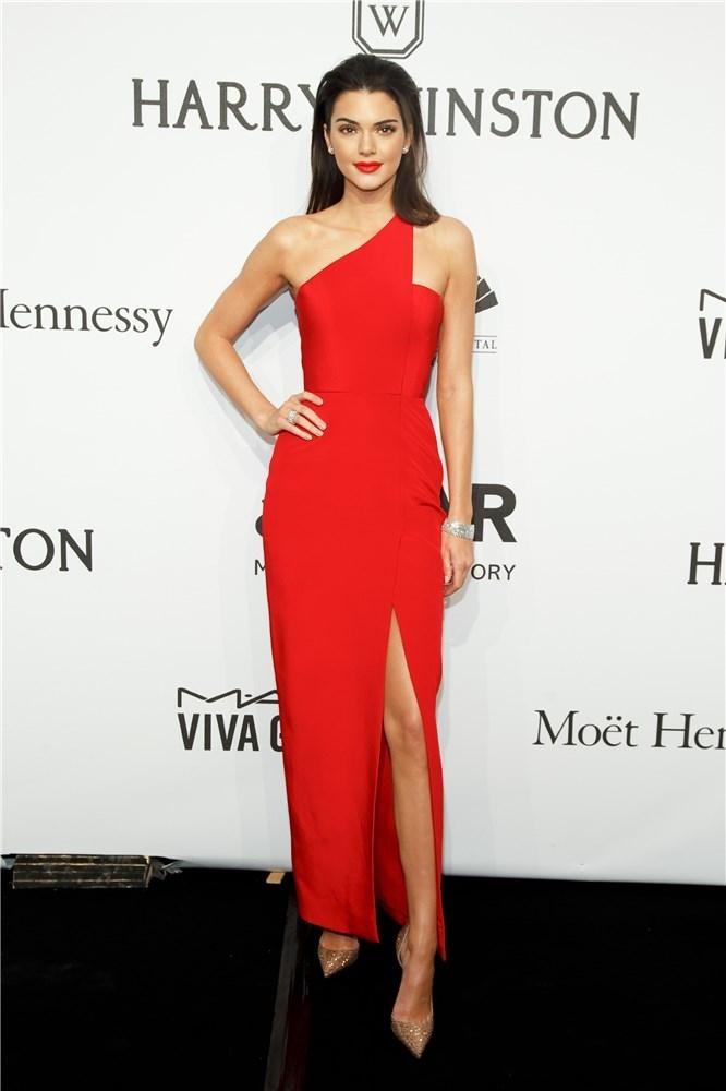 Kendall Jenner  con un Romona Keveza