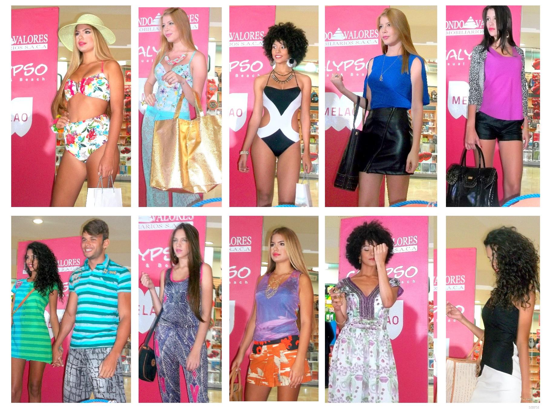 Mucha moda en el Tolon, tendencias playeras de Calypso, Melao, Tarbay y Custo Barcelona