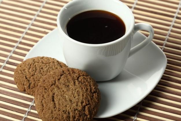 galletas con cafe