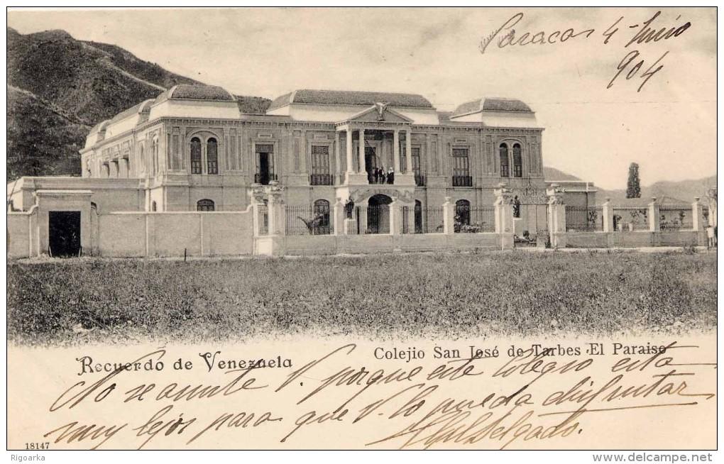 Colegio San José de Tarbes. Foto cortesía de delcampe