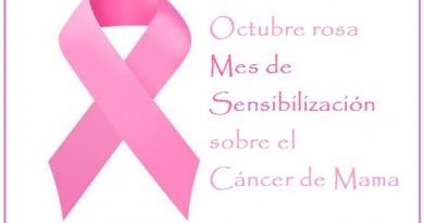 Mes rosa. Octubre cancer de mama
