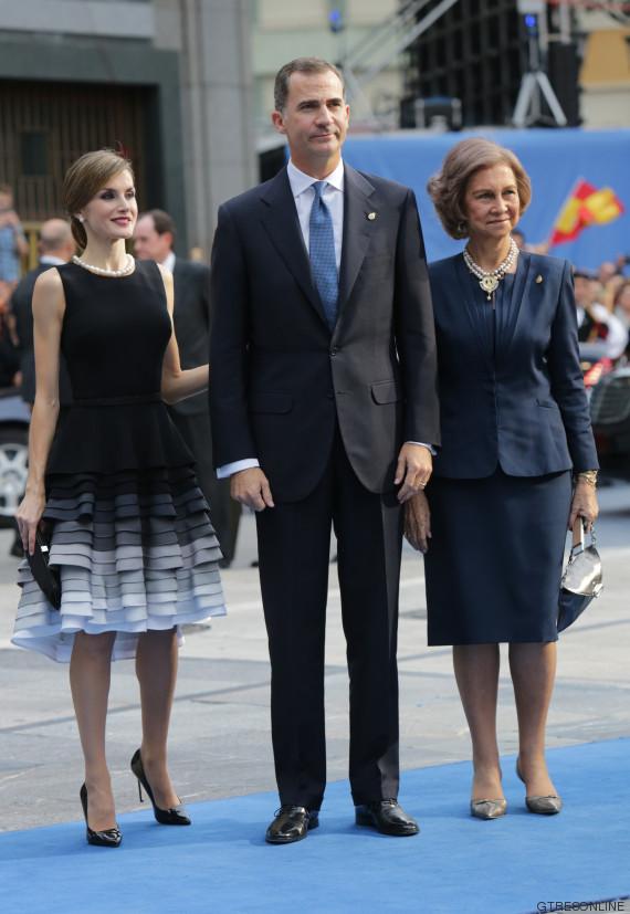 El look de los Reyes en los Premios Princesa de Asturias 2015