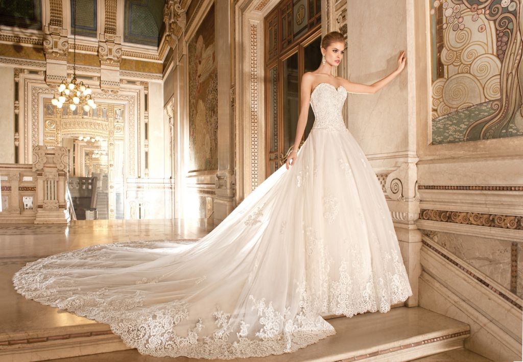 la nueva colección de la firma estadounidense de vestidos de novia