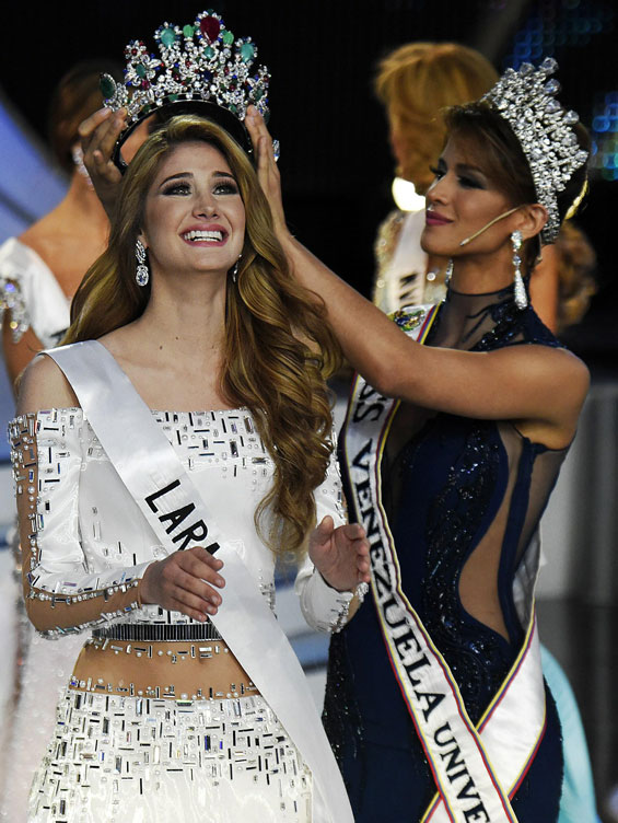 Mis Venezuela es Miss Lara Mariam Habach