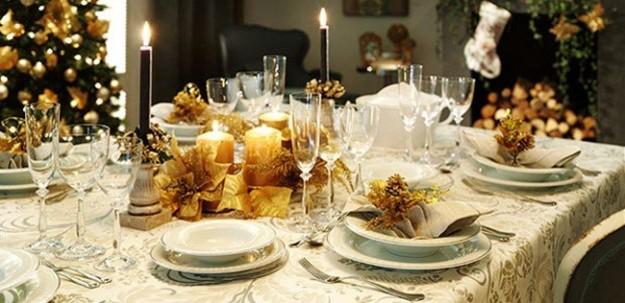 Tip Para Decorar Chic La Mesa En Navidad - Decoracion-para-mesa-navidea