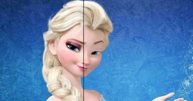 princesa sin maquillaje