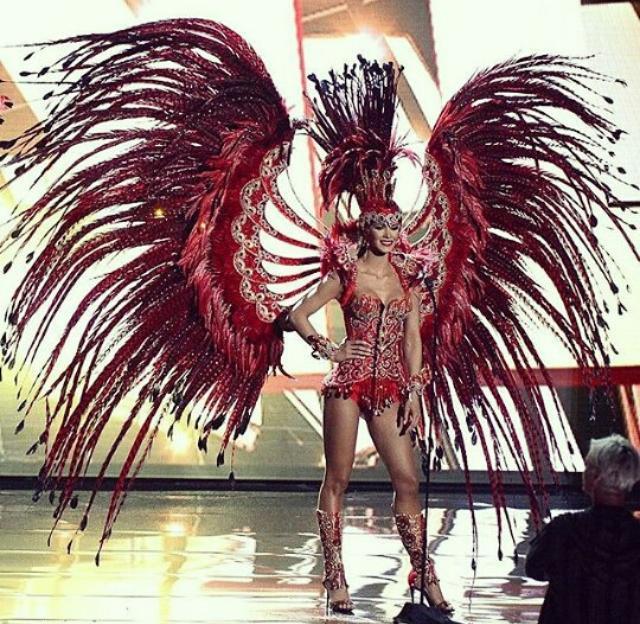 El espectacular traje típico de Venezuela en el Miss Universo
