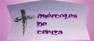 MIERCOLES DE CENIZA