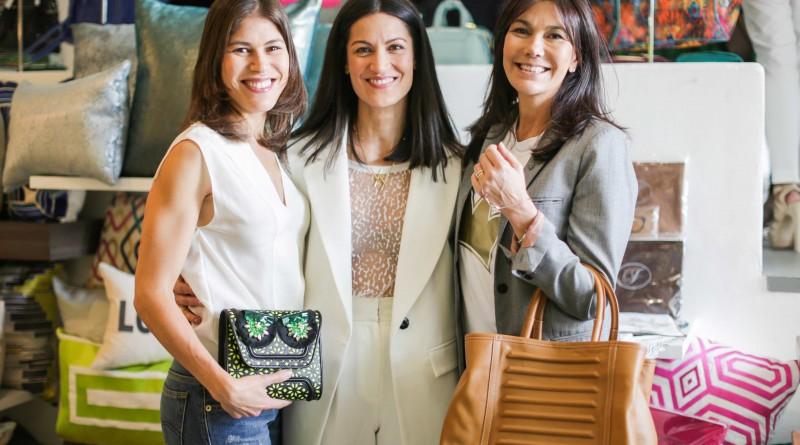 Ana Elisa Azpurua, Yliana Yepez y Alexandra Leret