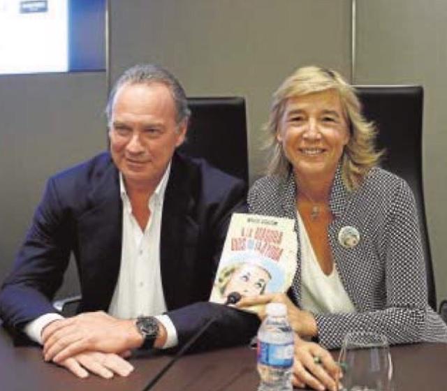 Marta Barroso y Bertin Osborne