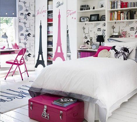 Ideas para decorar la habitación de una adolescente
