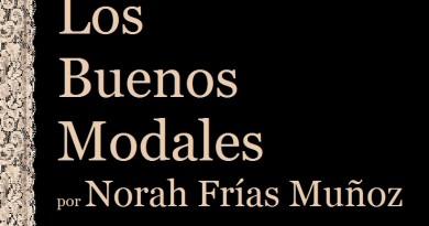 Los Buenos Modales por Norah Frias Muñoz