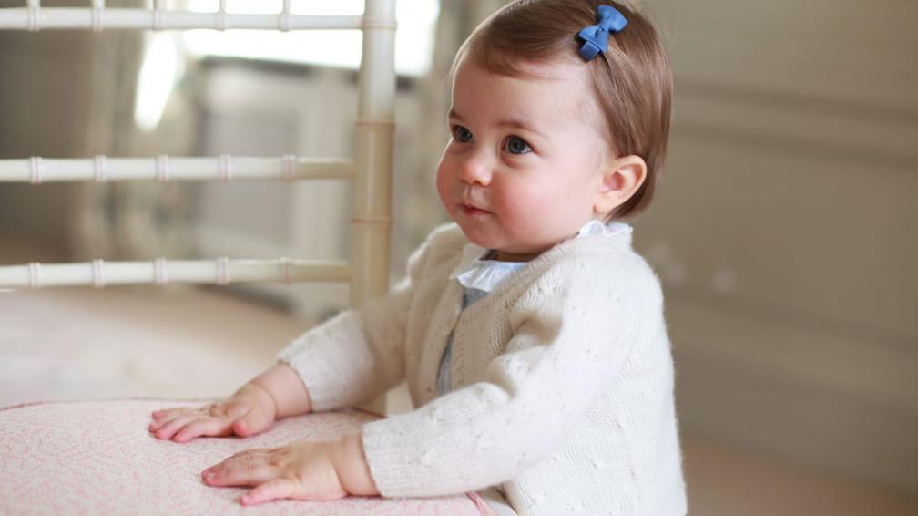 1mer cumpleaños de la Princesa Charlotte de Inglaterra