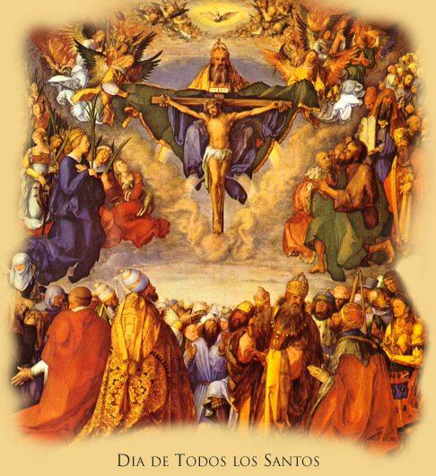 La celebración de Todos los Santos