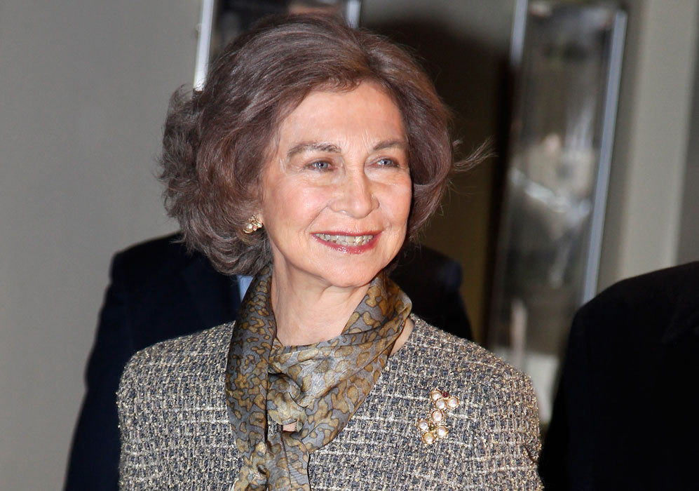 Celebró su cumpleaños la Reina Sofía de España