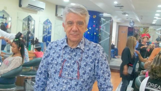 Luigi Bovanini el peluquero estrella de Venezuela, un estilo chic a través de décadas