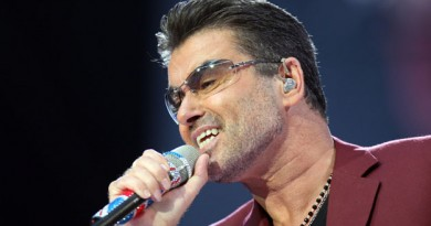 George Michael Performs At Wembley Stadium
