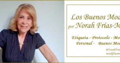 Los Buenos Modales por Norah Frías Muñoz - Etiqueta, Protocolo, Motivavcion Personal
