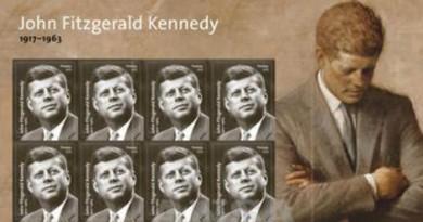 USA: un francobollo per i 100 anni dalla nascita di Kennedy