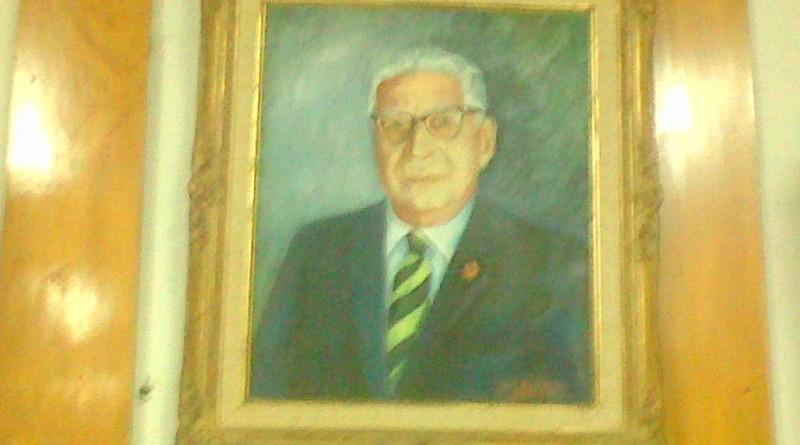 Cuadro en Academia Nacional de la Historia del Prof. Pedro José Muñoz