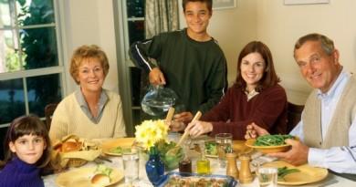 En mesa c flia e hijos