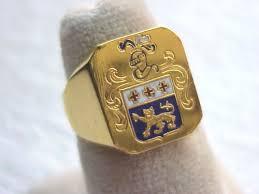 anillos heraldicos 1