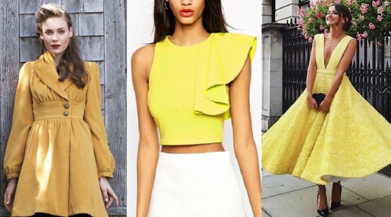 Como vestir de amarillo