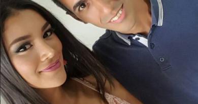 Francisco Aranguren y Oriana Gil Miss Miranda 2017