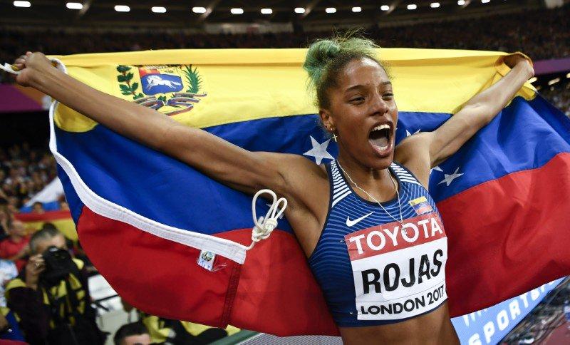 La venezolana Yulimar Rojas finalista a la atleta revelación del año