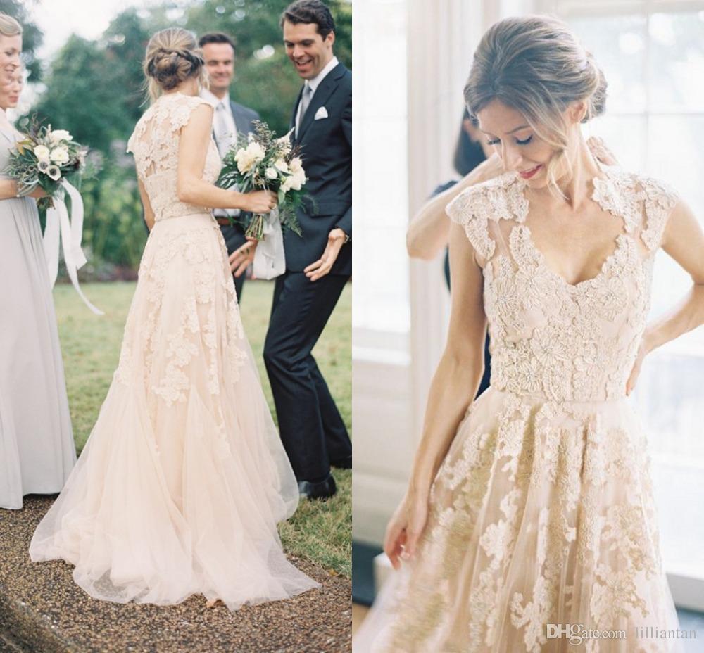 vestidos de novia otoño