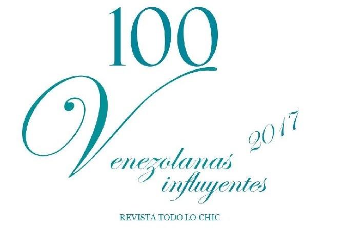 100 Venezolanas influyentes 2017 REVISTA TODO LO CHIC 2