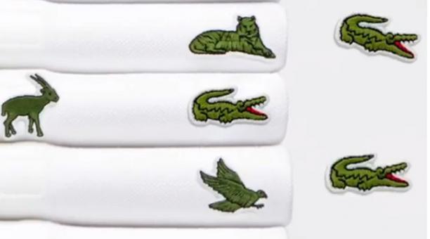 Lacoste cambia cocodrilo