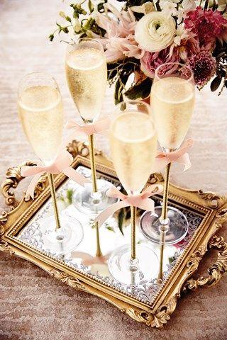 El tan chic champagne y su curiosa historia