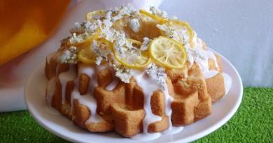 torta de limon u sauco