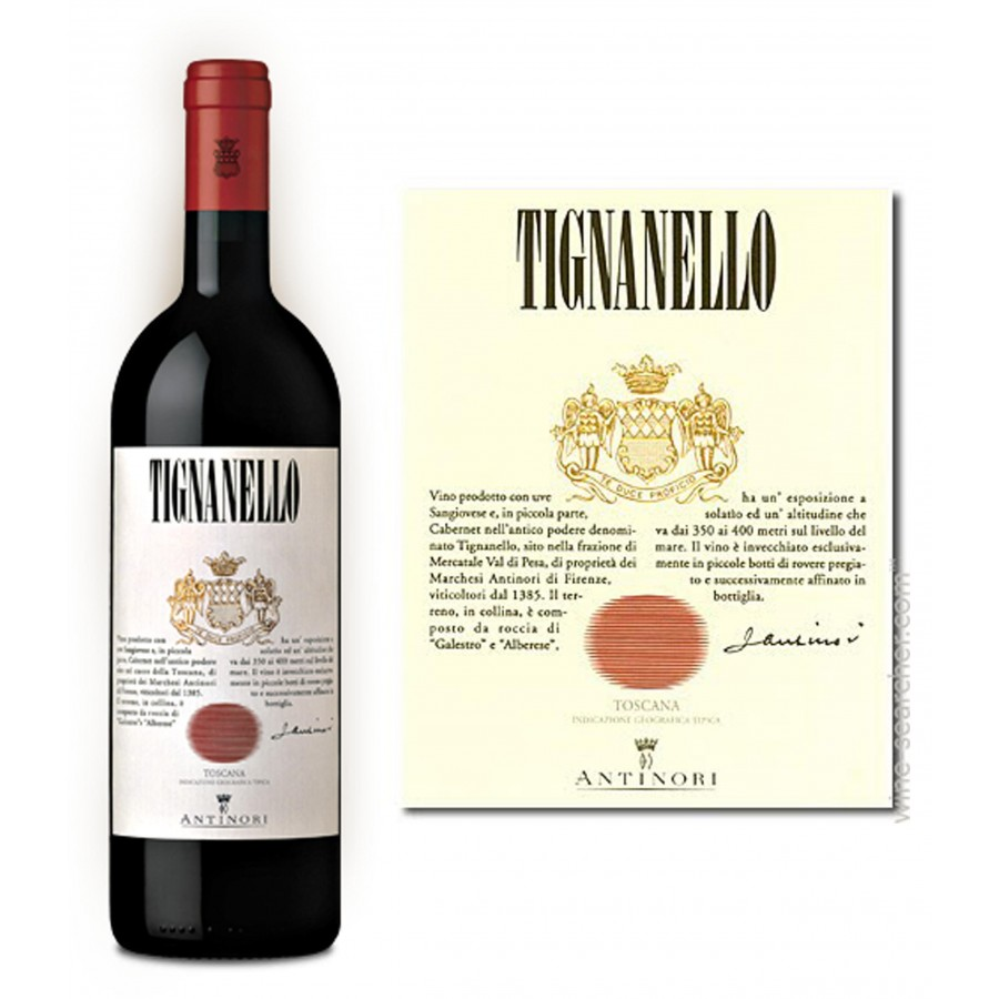 Tignanello, el vino chic que está de moda