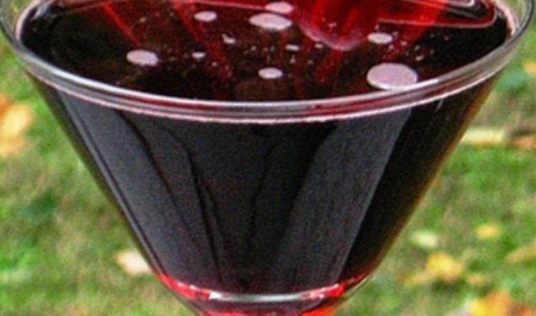 coctele vino tinto