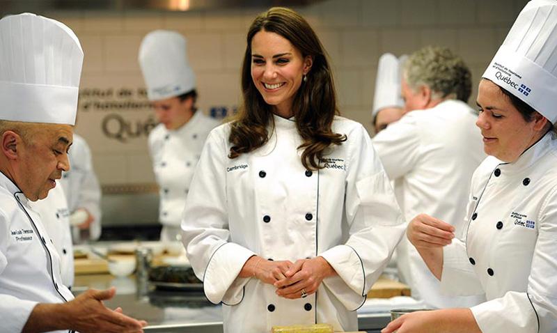 La Duquesa de Cambridge y su afición a la comida picante