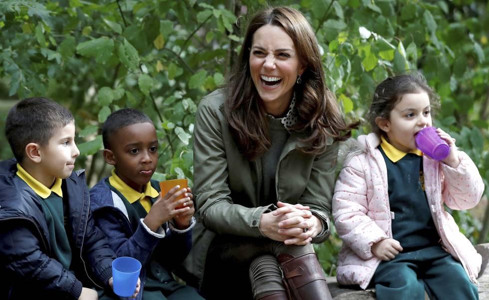 Kate Middleton, duquesa de Cambridge, vuelve al trabajo