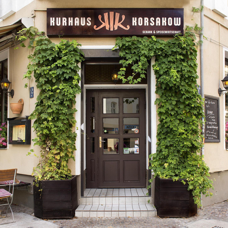 Korsakow, un restaurante muy chic en el centro de Berlín