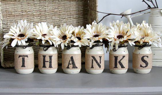 Thanksgiving! Ideas preciosas para la decoración de Acción de Gracias