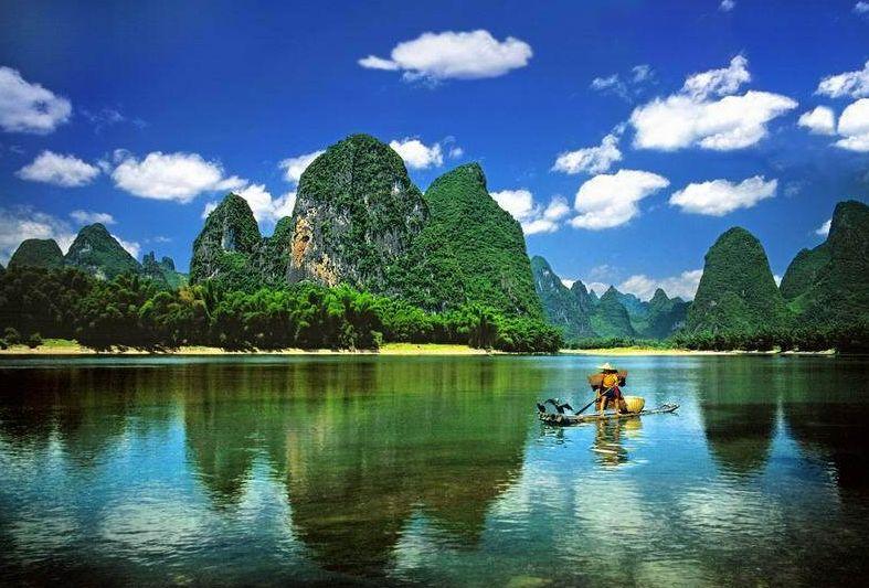 El majestuoso Río Li, un lugar que hay que navegar
