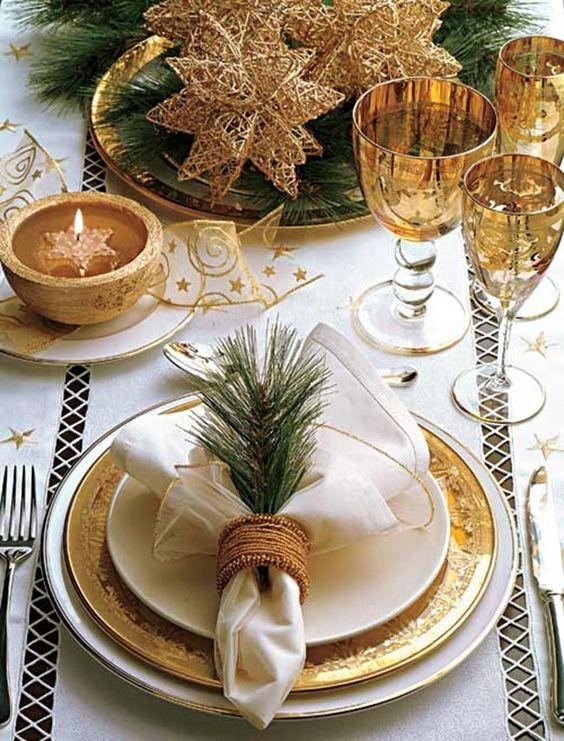 El más chic Año Nuevo, fácilmente tu mesa ¡espectacular!