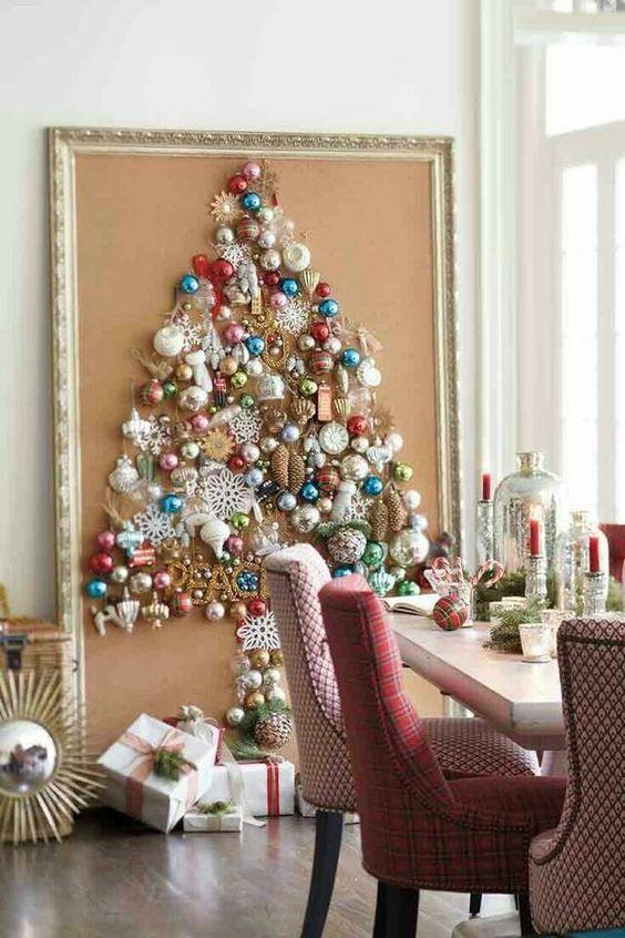 ¿Arbolito de Navidad sin árbol?