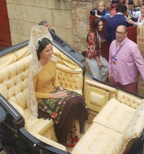Victoria de Marichalar Madrina de la Feria de Abril 2019
