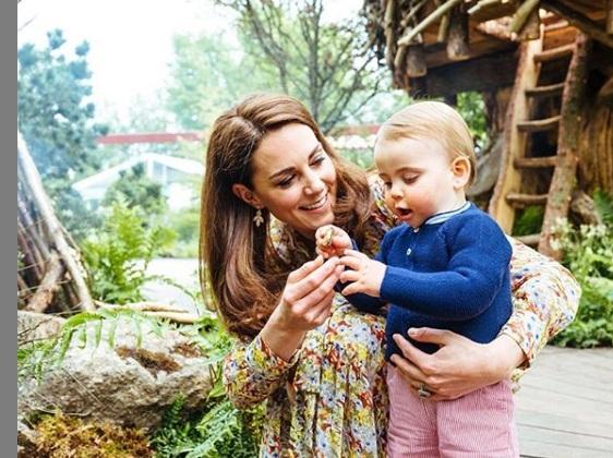 Las nuevas adorables fotos de Kate, William y sus hijos
